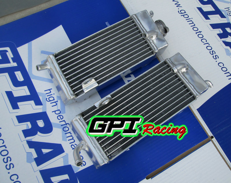 GPI Aluminum Radiator for Yamaha YZ125 YZ 125 89 90 91 92 1989 1990 1991 1992