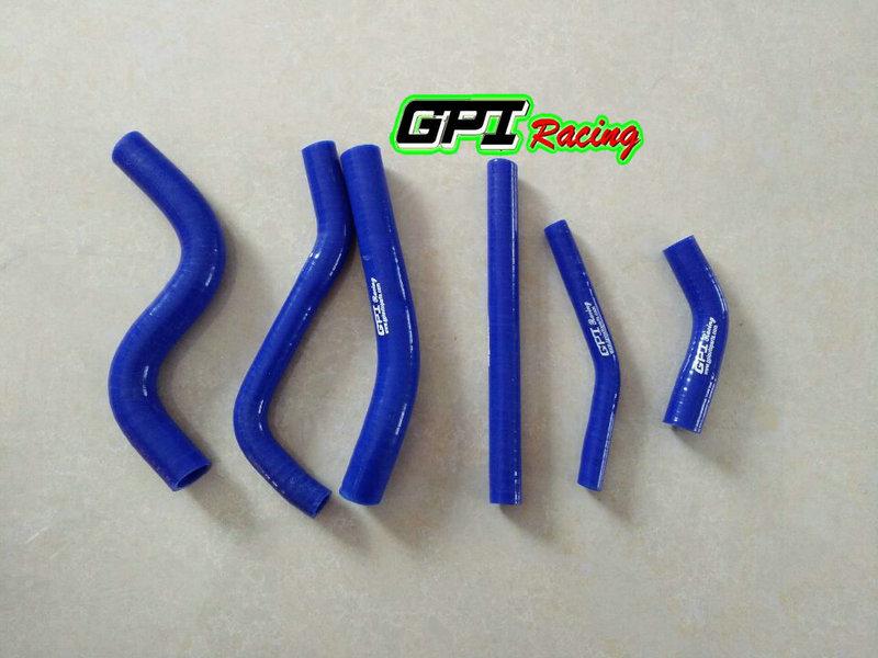 For Yamaha YZ250 YZ 250 1993 1994 1995 93 94 95 silicone radiator hose BLUE