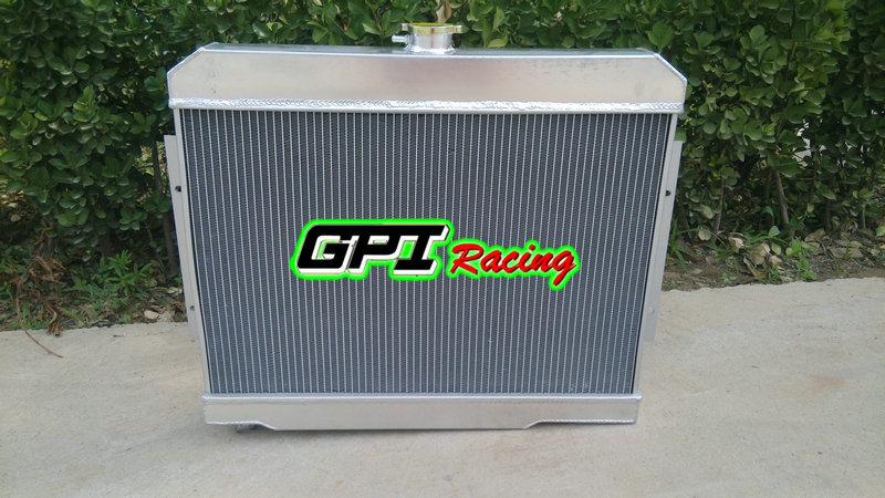 Aluminum Radiator 1972-1986 V8 Jeep CJ CHEVY CONVERSION 1973