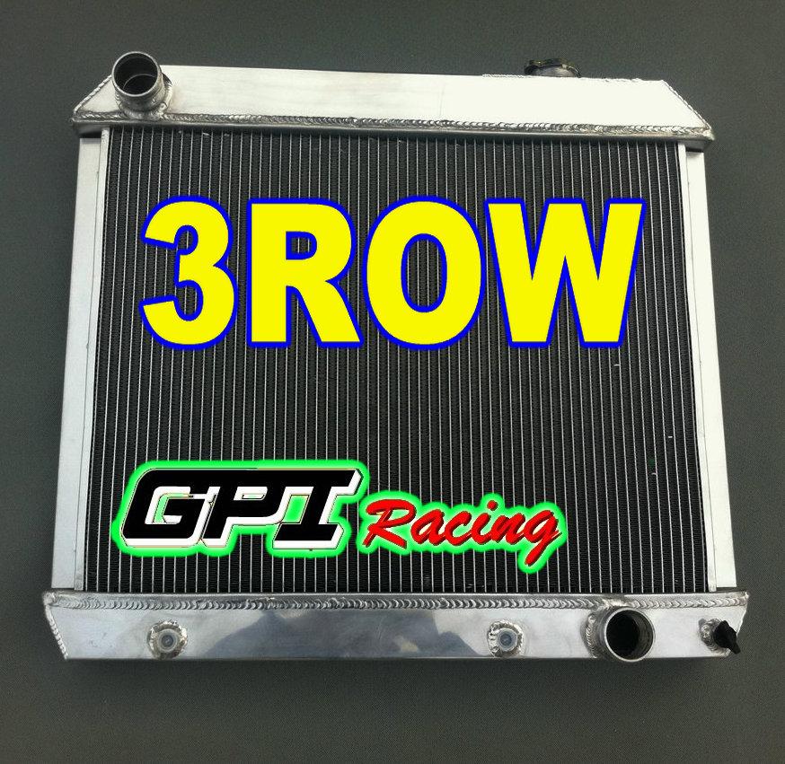 3 Rowstri Cores Aluminum Radiator 1963 1964 1965 1966 Chevy C10 C20
