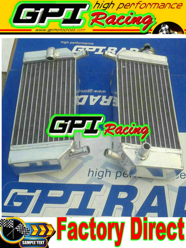 40mm 2row Radiator HONDA CRF250R CRF250X CRF 250 R X 04-09 05 06 07 08 2004 2005
