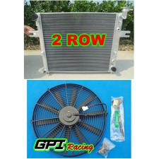 Aluminum radiator for JEEP GRAND CHEROKEE WJ/WG 4.7L V8 1999-2005 00 01 02 +FAN
