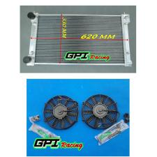ALUMINUM ALLOY RADIATOR +FAN VW GOLF/RABBIT/SCIROCCO GTI MK1 MK2 8V M/T