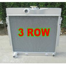 3row ALUMINUM RADIATOR 1963-1969 DODGE DART/CHARGER/CORNET/FURY PLYMOUTH V8