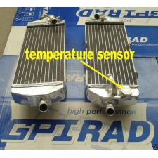 GPI racing Aluminum Radiator for KTM 400 450 525 MXC/EXC 2003 2004 2005 2006