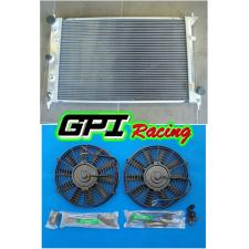 GPI Aluminum Radiator for Ford Falcon BA BF V8 Fairmont XR8 & XR6 Turbo + fans
