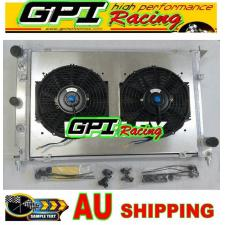 Aluminum Radiator +Shroud +fan Ford Falcon BA BF V8 Fairmont XR8 &XR6 Turbo