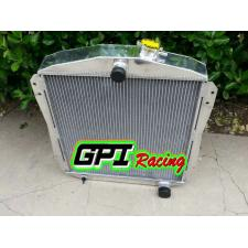 FOR CHEVY HOT/STREET ROD TRUCK PICKUP 1946-1948 L6 ENGINE Aluminum Radiator