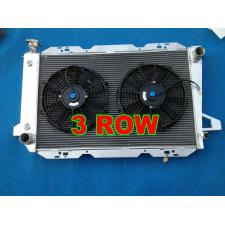 Aluminum Radiator for Ford F100 F150 F250 F350 Bronco V8 1983-1997 AT/MT + FAN