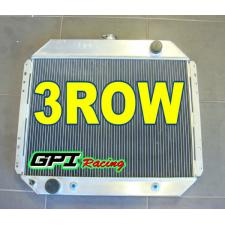 3 rows 62 mm aluminum radiator for FORD F100 F150 F250 F350 Bronco V8 1968-1979