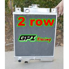 1989-1994 Suzuki Swift 1.3L MT 2 ROW Aluminum Radiator New 1990 1991 1992 93