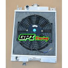Suzuki Swift GTi/GS/GT/GL/GLX 89-1994 93 92 91 90 Aluminum Radiator + FAN